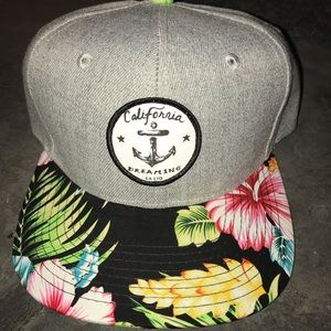 Other - California Dreaming Hat. Snap back flat bill.